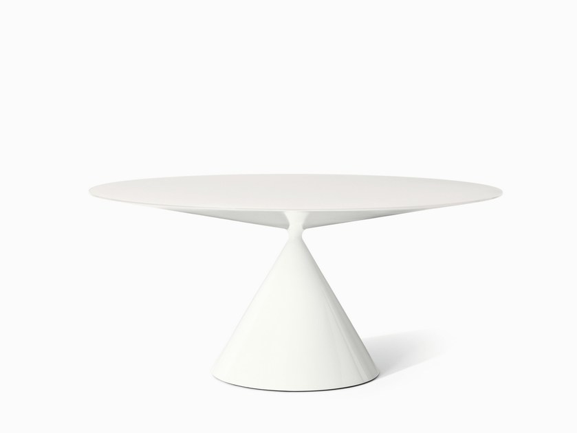 Round living room table CLAY | Round table - Desalto