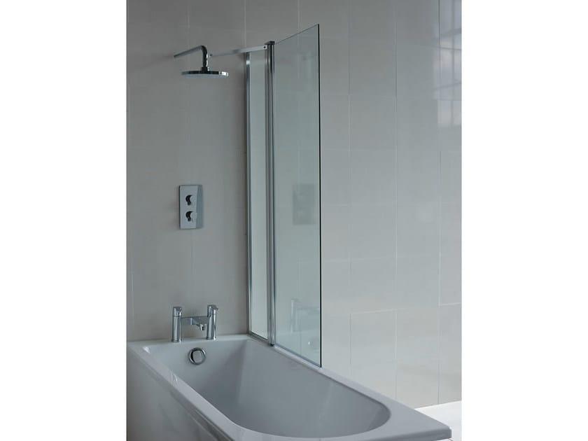 Glass bathtub wall panel CLEARGREEN - BS2 - Polo