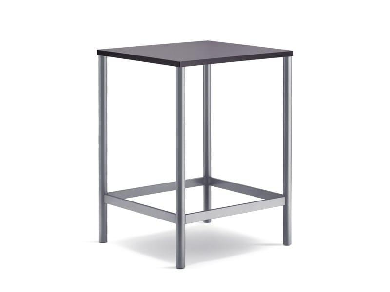 Tavolo alto quadrato per contract CLIENT | Tavolo alto - Wiesner-Hager