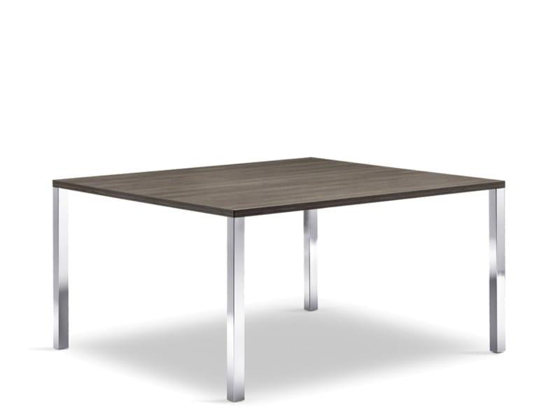 Tavolo quadrato per contract CLIENT | Tavolo quadrato - Wiesner-Hager