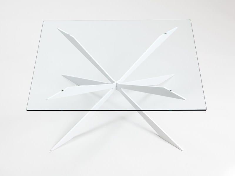 Square coffee table CLIX SQ - ENVY