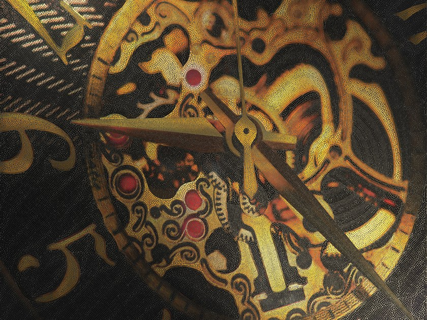 Glass mosaic CLOCKWORKS by DG Mosaic