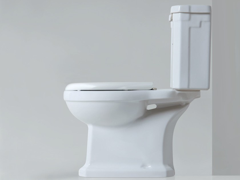 Close coupled ceramic toilet VICTORIAN STYLE | Close coupled toilet by AZZURRA sanitari