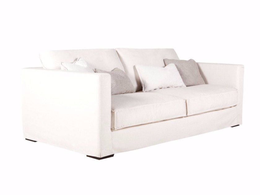 Upholstered 2 seater fabric sofa CLOUD | 2 seater sofa - SITS