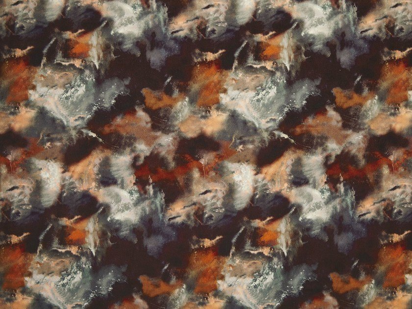 Velvet fabric CLOUDBUSTING | Fabric by 17 patterns