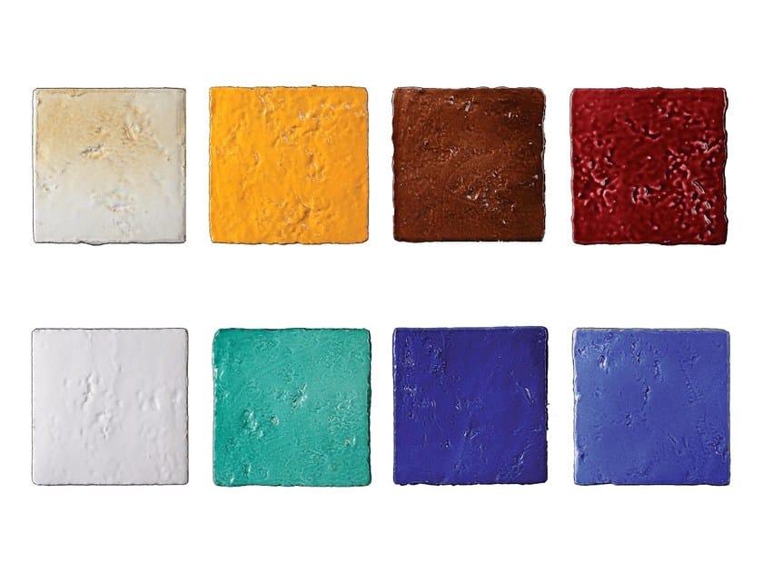 Indoor faïence wall tiles COCCI DEL RIALE | Sampling - DANILO RAMAZZOTTI ITALIAN HOUSE FLOOR