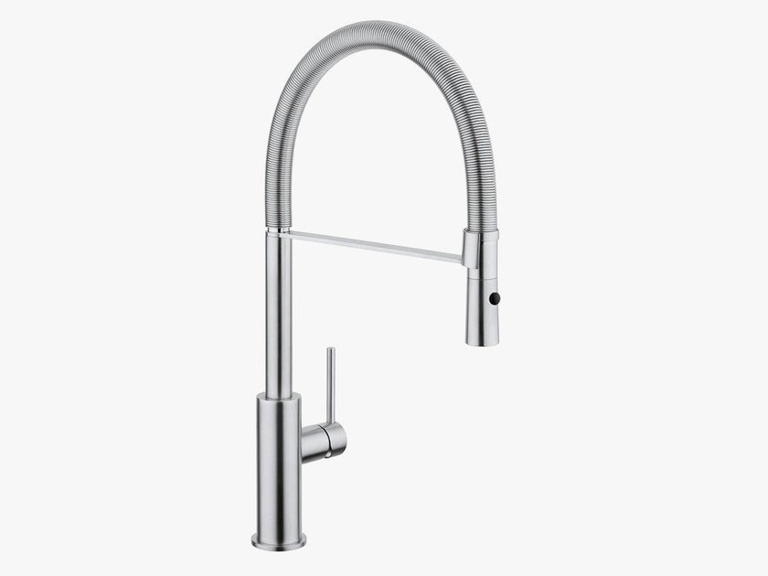 Kitchen mixer tap with pull out spray COCOON MONO 14 - COCOON