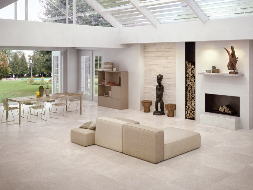 Indoor porcelain stoneware wall/floor tiles CODE IVORY - CERAMICHE KEOPE