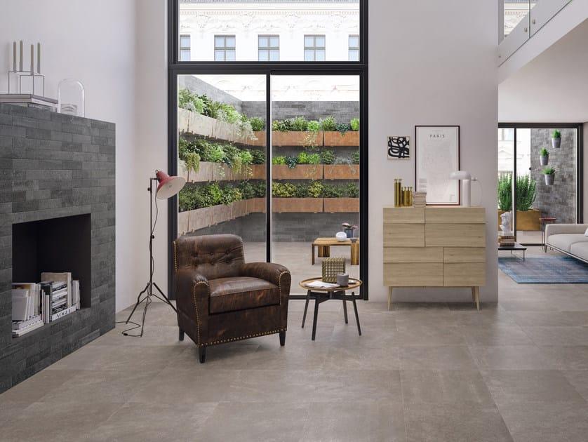 Pavimento/rivestimento in gres porcellanato per interni CODE TAUPE - CERAMICHE KEOPE