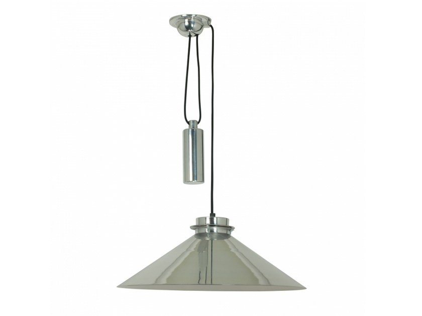 Aluminium pendant lamp with dimmer CODIE RISE & FALL by Original BTC
