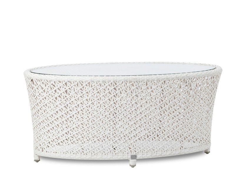 Oval garden side table TUSCANY | Coffee table - 7OCEANS DESIGNS