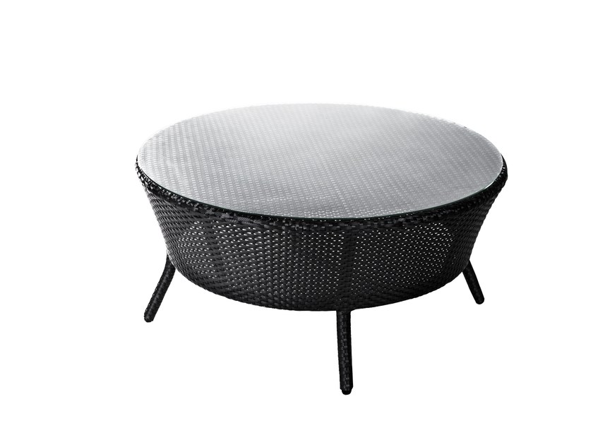 Round garden side table PARIS | Coffee table by 7OCEANS DESIGNS