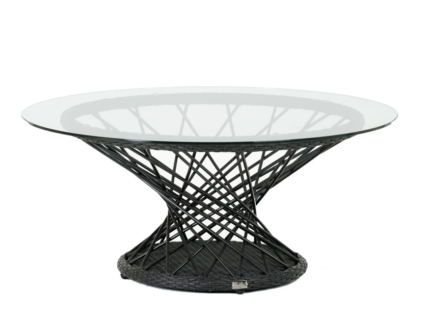 Tavolino da giardino rotondo RAVEL | Tavolino da caffè - 7OCEANS DESIGNS