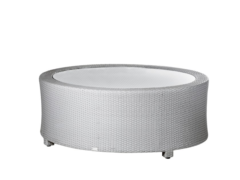 Round garden side table BAY | Coffee table - 7OCEANS DESIGNS