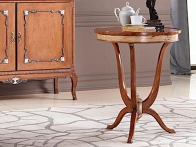 Tavolino rotondo in legno massello KEVIN | Tavolino - Arvestyle