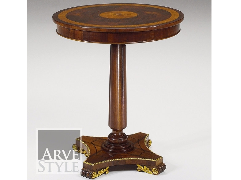 Round solid wood coffee table VIENNA | Coffee table by Arvestyle