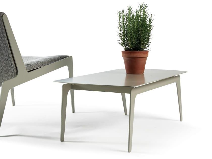 Rectangular garden side table KATE | Coffee table - Atipico