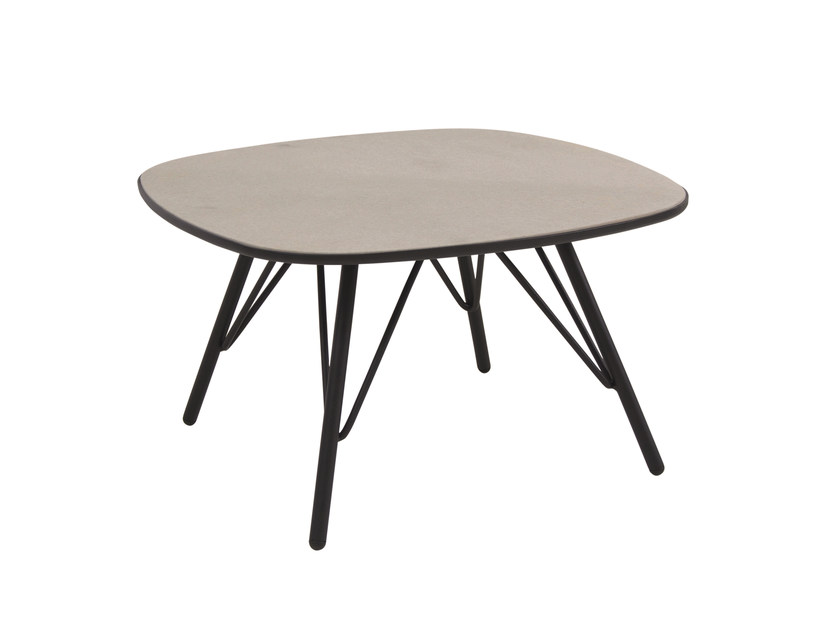 Square garden side table LYZE | Coffee table - EMU Group S.p.A.