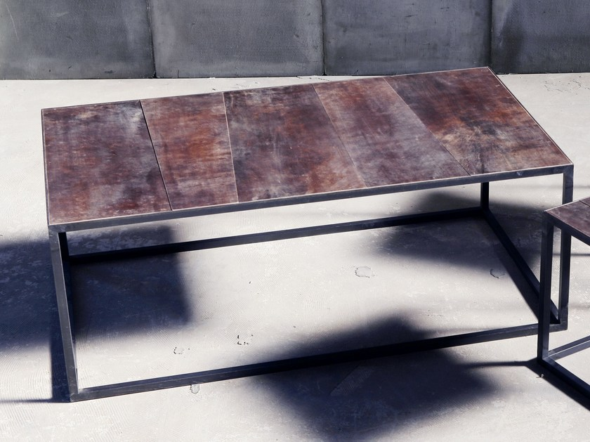 Coffee table for living room MESA LEATHER | Coffee table - Heerenhuis