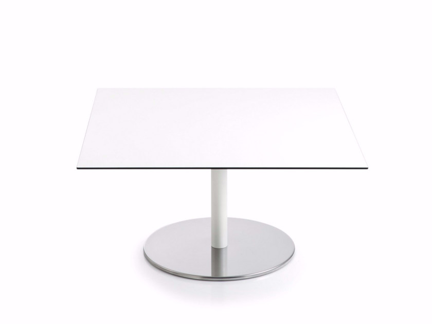 Low square MDF coffee table INTONDO | Square coffee table by Luxy