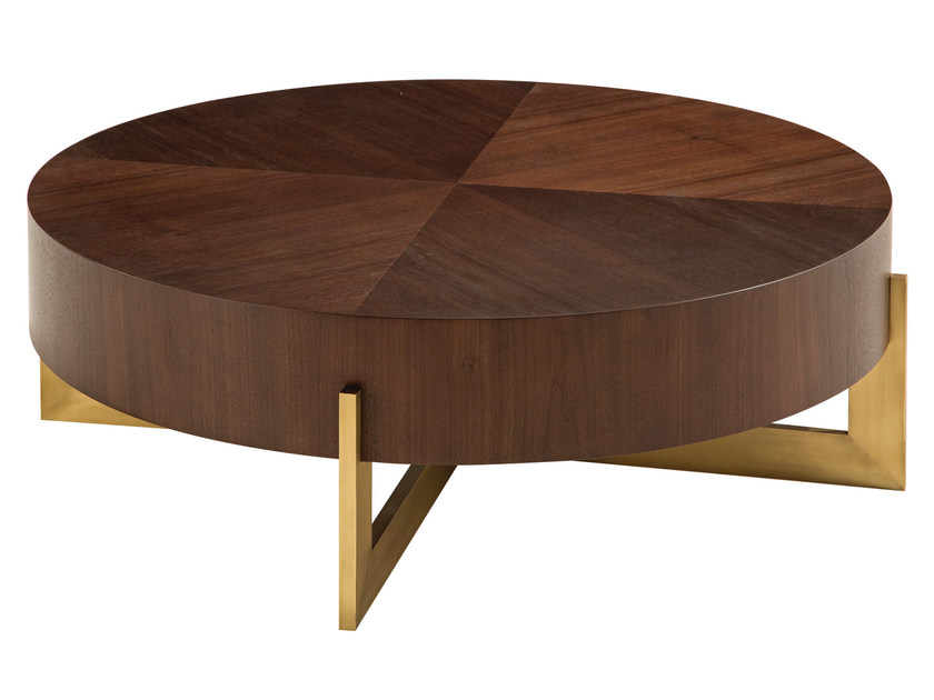 Low round coffee table TROCADERO | Coffee table by ROCHE BOBOIS