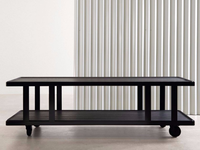 Rectangular coffee table with tray HUTCH | Coffee table with tray - Atipico