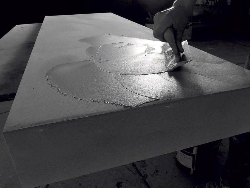 Ecomalta washbasin countertop COLDSTONE - Antonio Lupi Design®
