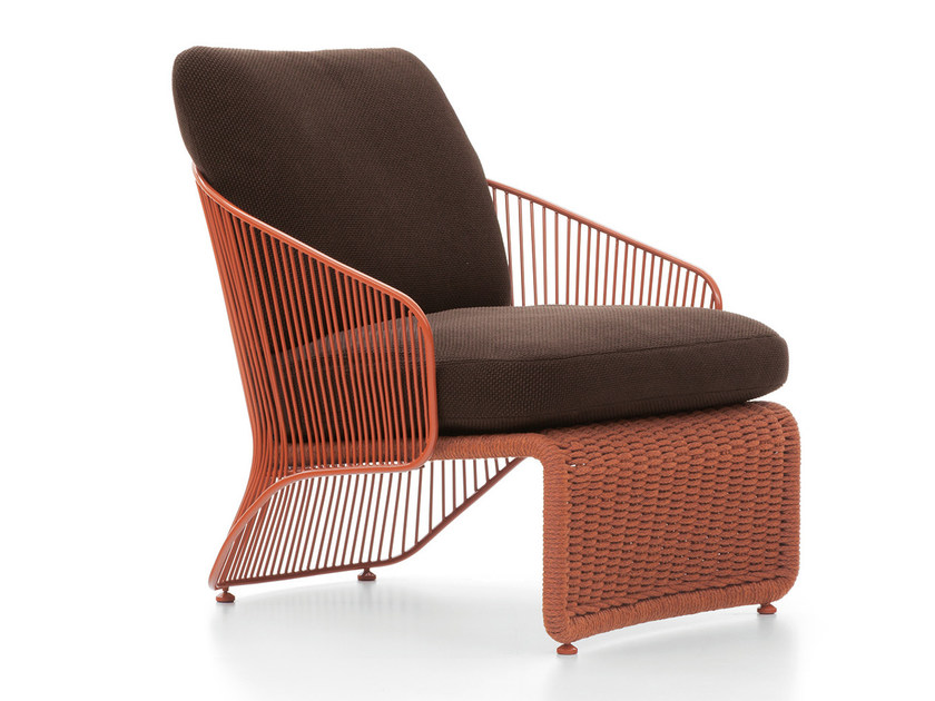 Outdoor armchair COLETTE OUTDOOR by Minotti