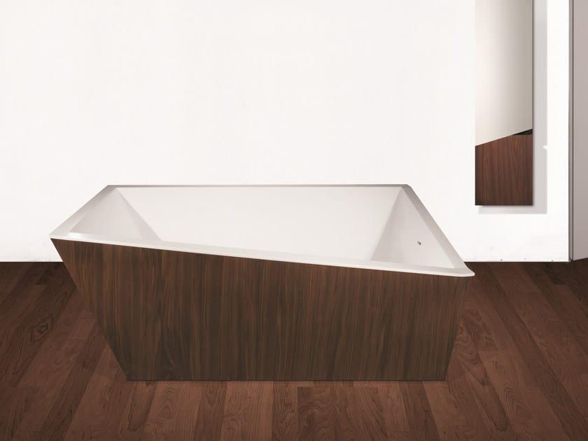 Vasca da bagno centro stanza rettangolare COLLAPSE | Vasca da bagno - Rapsel