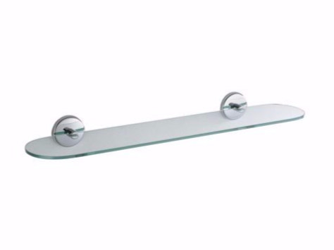 Crystal bathroom wall shelf COLORELLA | Crystal bathroom wall shelf by INDA®