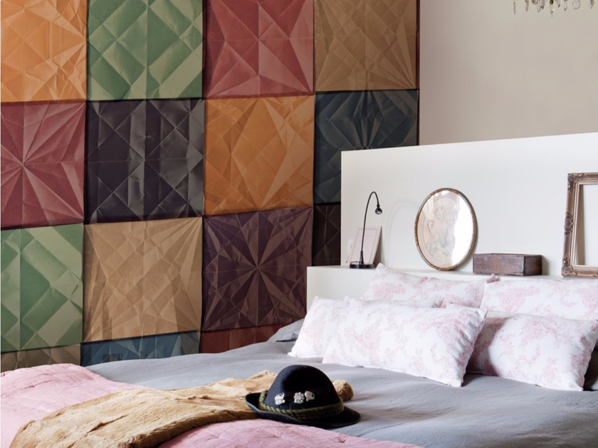 Check panoramic wallpaper COLORFUL by Inkiostro Bianco