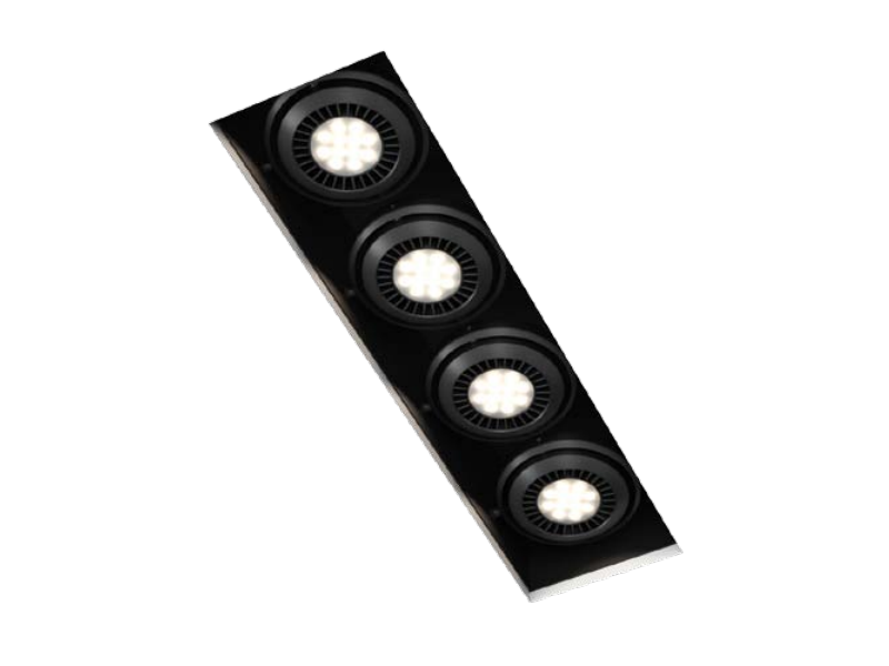 LED rectangular built-in lamp COMA D - FLASH DQ by LUG Light Factory