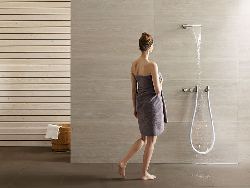 combi 32 shower tap by vola. Black Bedroom Furniture Sets. Home Design Ideas
