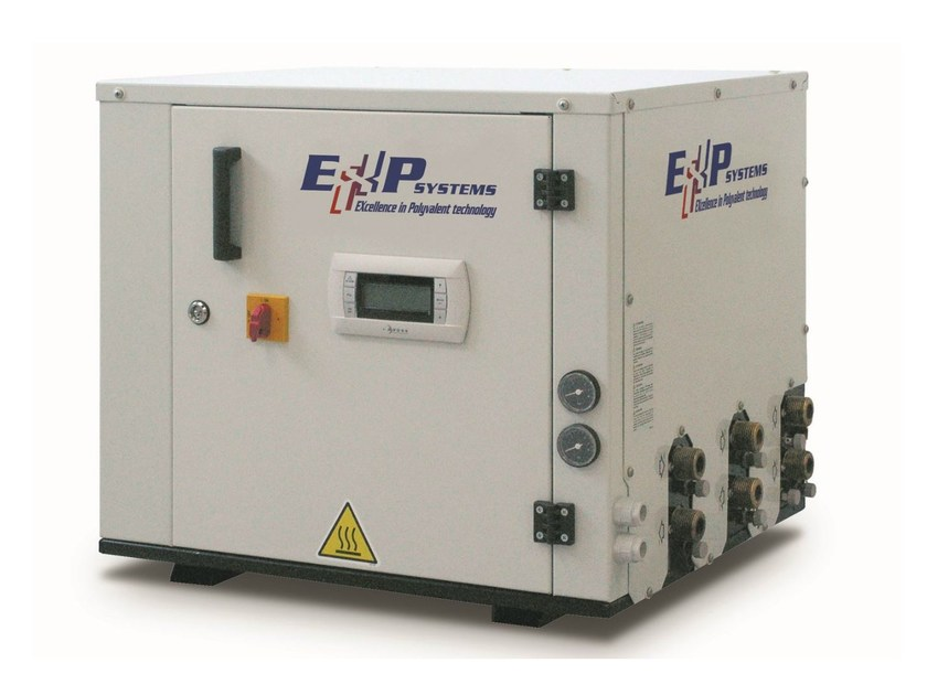 Polyvalent ecological water-cooled system (5÷12 kW) Comby-Flow EXP - TXHEY 105÷112 - Rhoss