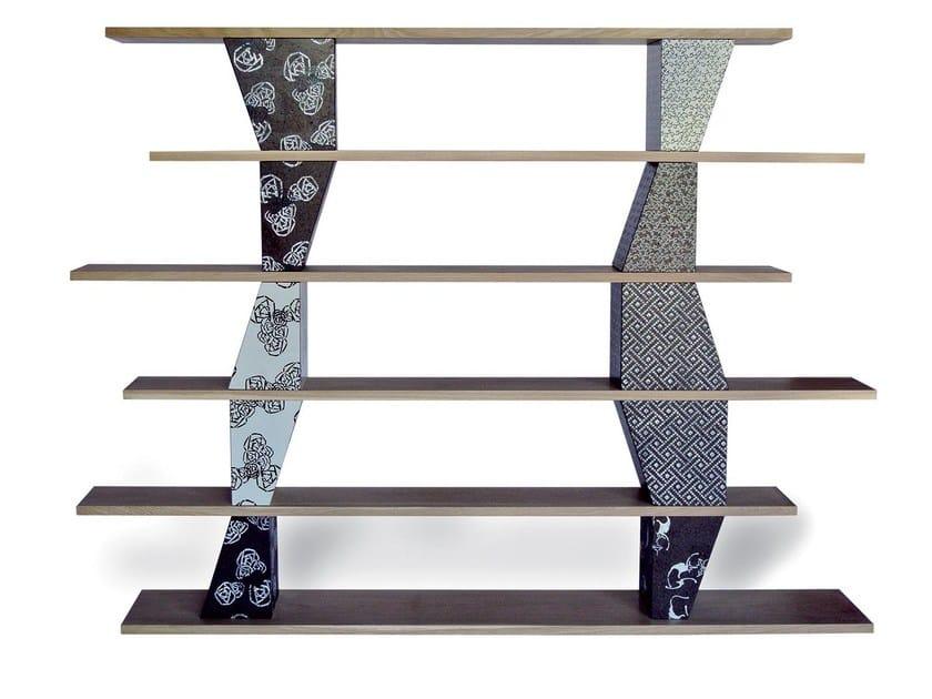 Sectional bookcase COME TU MI VUOI DESIGUAL by Made a Mano