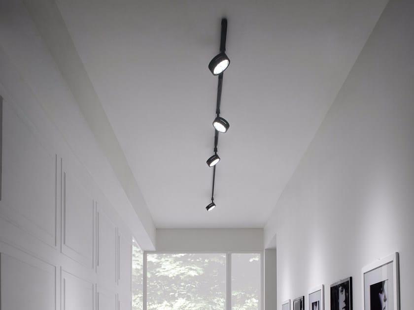 Illuminazione a binario a LED in alluminio COMPACT | Illuminazione a binario by GLIP by S.I.L.E