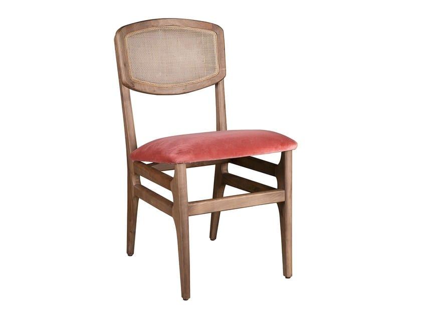 Fabric chair COMPORTA 2 - Branco sobre Branco