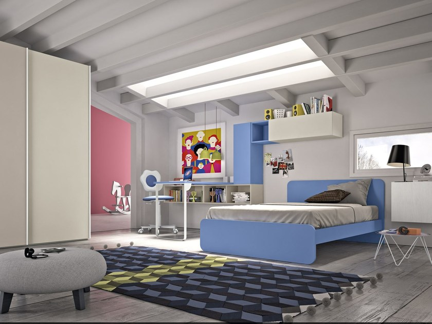 Teenage bedroom COMPOSITION 1 by Mottes Mobili