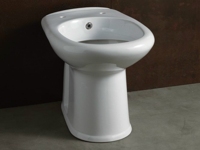 Ceramic toilet with bidet CONFORT | Toilet with bidet - Alice Ceramica