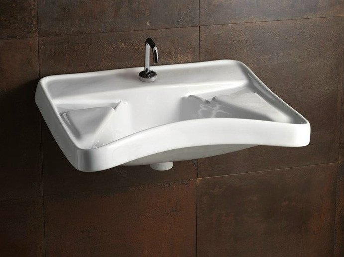 Ceramic washbasin CONFORT | Washbasin - Alice Ceramica
