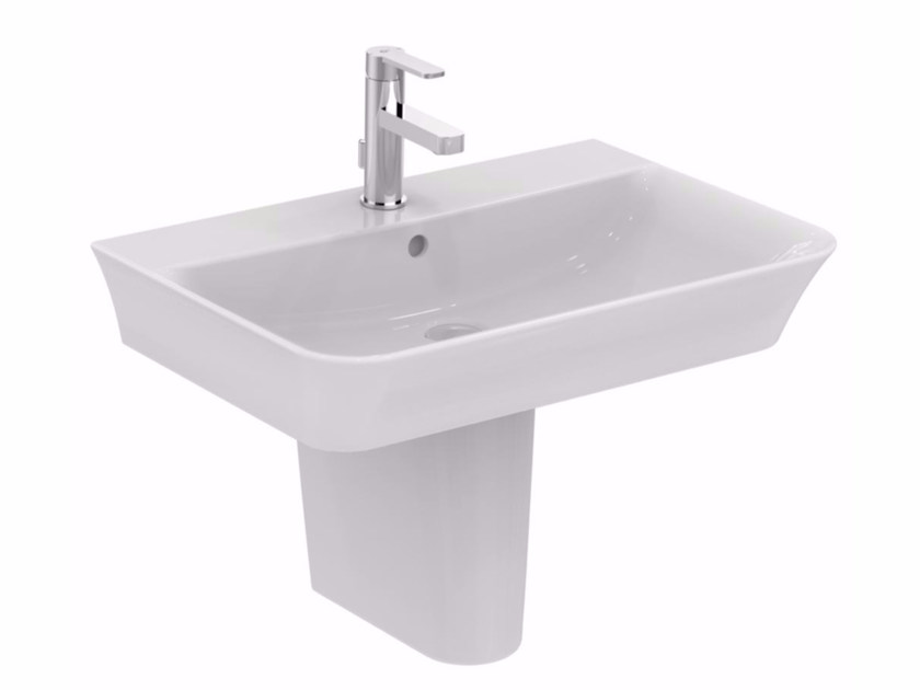 Lavabo sospeso in ceramica CONNECT AIR - 70 cm - Ideal Standard Italia