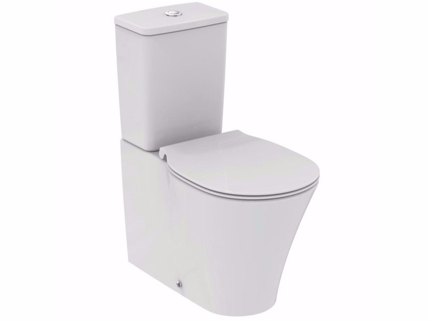 Close coupled ceramic toilet CONNECT AIR | Close coupled toilet - Ideal Standard Italia
