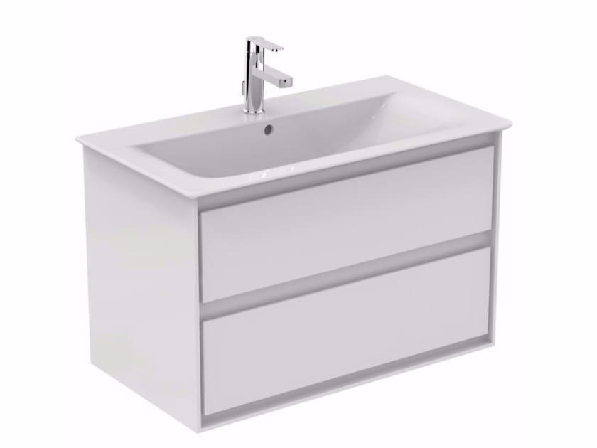 Mobile lavabo laccato sospeso con cassetti CONNECT AIR - E0819 - Ideal Standard Italia