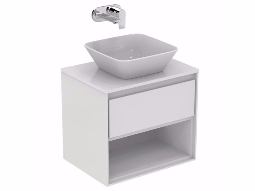 Mobile lavabo laccato sospeso con cassetti CONNECT AIR - E0826 - Ideal Standard Italia