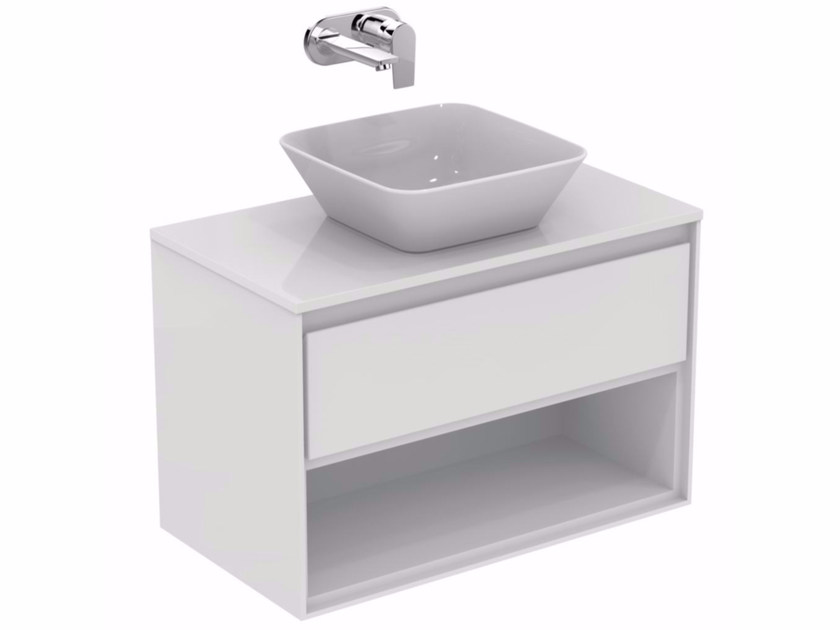 Mobile lavabo laccato con cassetti CONNECT AIR - E0827 - Ideal Standard Italia