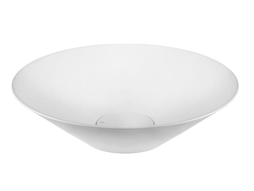 Countertop round Cristalplant® washbasin CONO WASHBASINS 45903 - Gessi