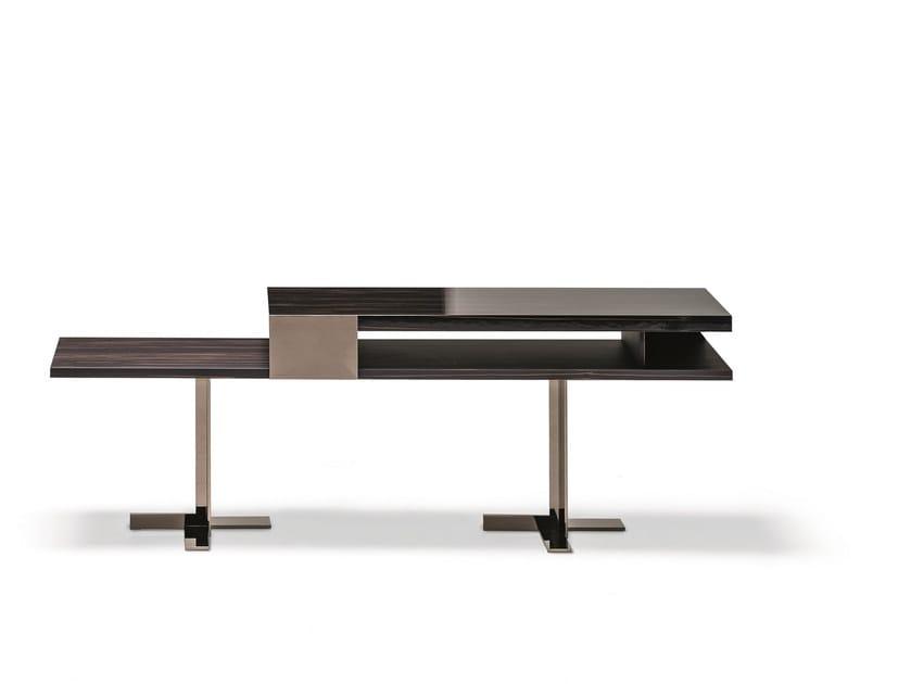 Rectangular wooden console table ELAS | Console table - Arketipo