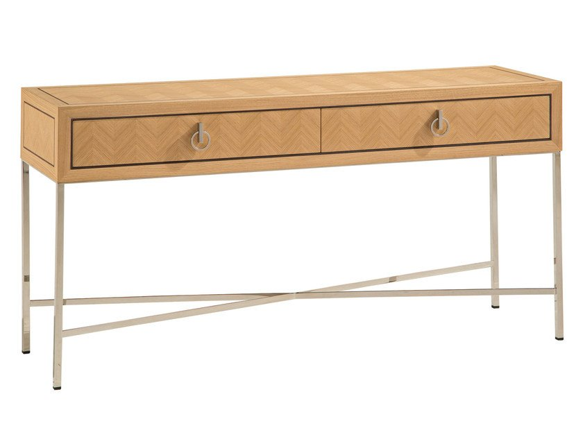 Rectangular console table with drawers EPOQ | Console table by ROCHE BOBOIS