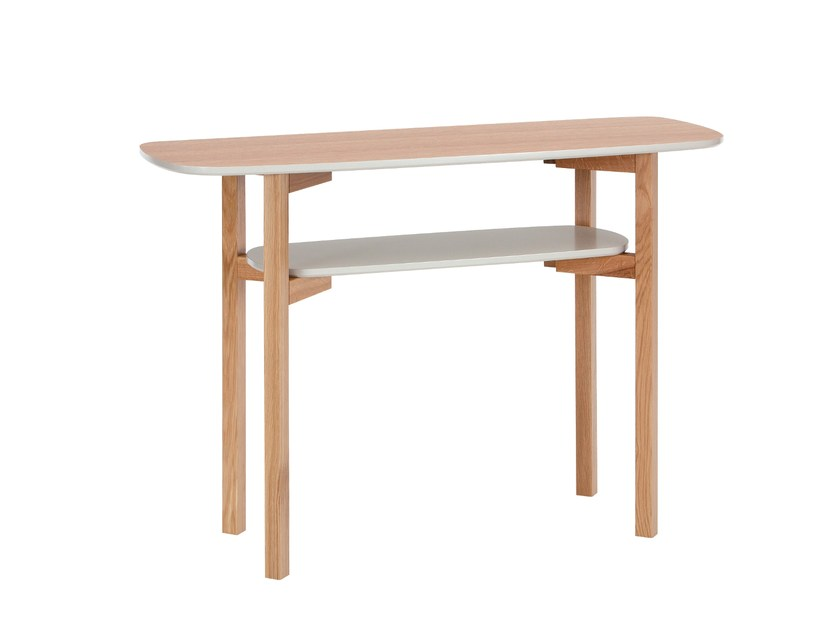Rectangular wooden console table CEE | Console table - Woodman