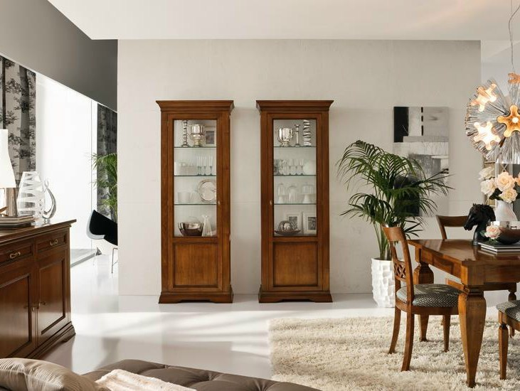 Solid wood display cabinet CONTESSA | Display cabinet by Devina Nais